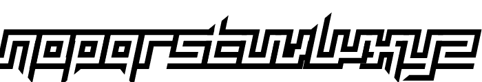 Mayon Exquisite Italic Font LOWERCASE