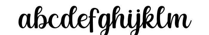 Mayones Font LOWERCASE