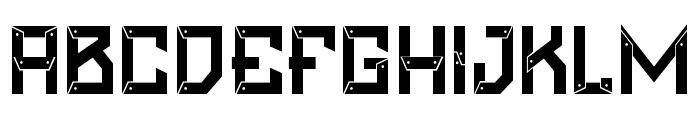 Maztech-Regular Font UPPERCASE
