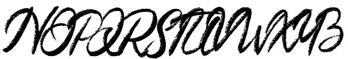 Meadows Regular Font UPPERCASE