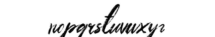Meadows Regular Font LOWERCASE