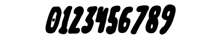 Meep-BlackSlanted Font OTHER CHARS