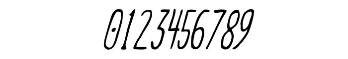 Meep Light Slanted Font OTHER CHARS