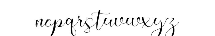 MeganNice Font LOWERCASE