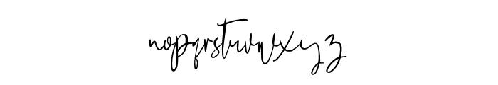 MegidameSignature Font LOWERCASE