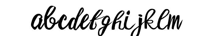 Meilalya Font LOWERCASE