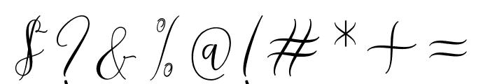 Melinda Font OTHER CHARS