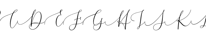 Melinda Font UPPERCASE