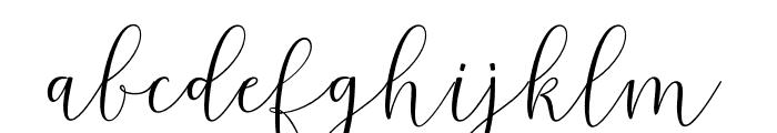 Melinda Font LOWERCASE