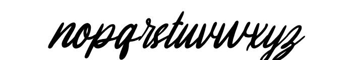 Melissa Italic Font LOWERCASE