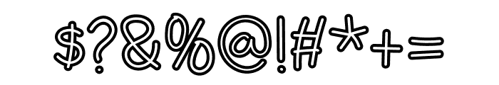 Mellinda Handmade Font OTHER CHARS