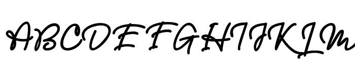 Mellodious Font UPPERCASE