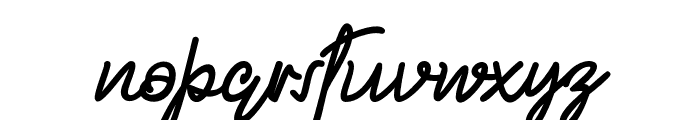 Mellodious Font LOWERCASE