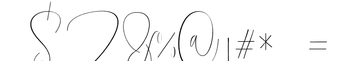 Mellonya Font OTHER CHARS