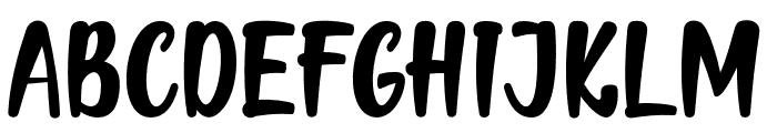 Mellow Font UPPERCASE