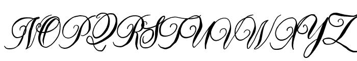 MellowdyScript Font UPPERCASE