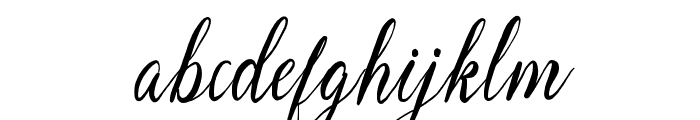 MellowdyScript Font LOWERCASE