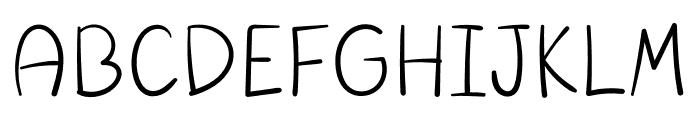 Mercy Font LOWERCASE