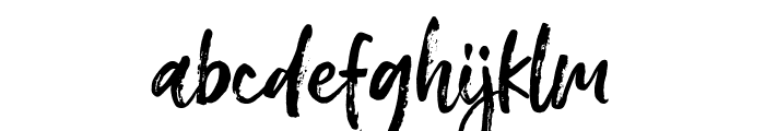 Meredith Font LOWERCASE