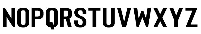 Merhique Black Font UPPERCASE