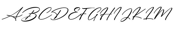 Messy Nessy Script 1 Font UPPERCASE