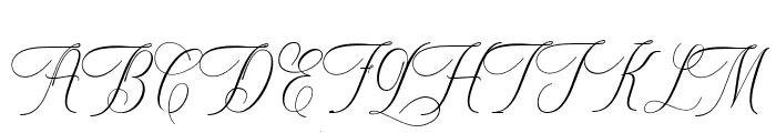 Metropolis Font UPPERCASE