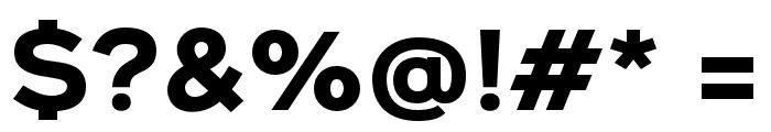 Metrosant Regular Font OTHER CHARS