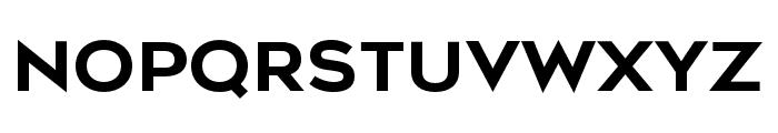 Metrosant Regular Font UPPERCASE