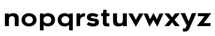 Metrosant Regular Font LOWERCASE
