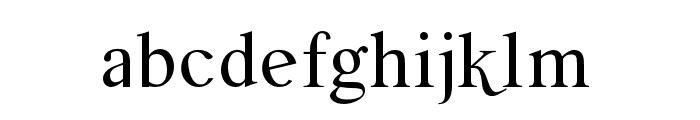 Meulage-Regular Font LOWERCASE