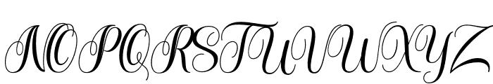 Meulati Font UPPERCASE