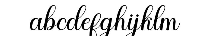 Meulati Font LOWERCASE