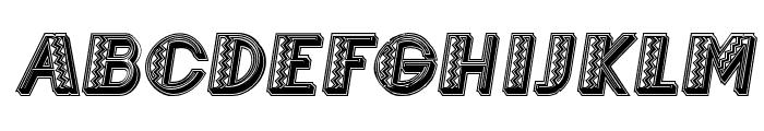 Mexicanero Italic Font LOWERCASE