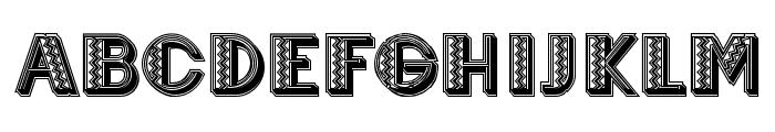 Mexicanero Regular Font UPPERCASE