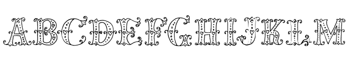 MiaBellaLighthearted Font LOWERCASE