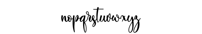 Michie Font LOWERCASE
