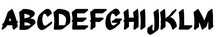 Middle Management Font UPPERCASE