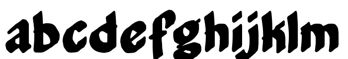 Middle Management Font LOWERCASE