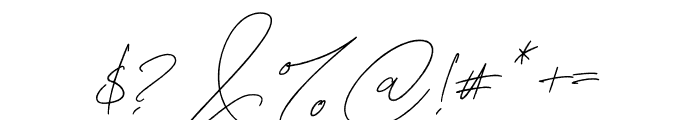 MightamBrush Font OTHER CHARS