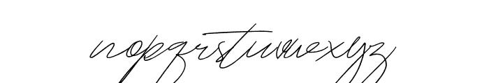 MightamBrush Font LOWERCASE
