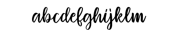 Mignon-Regular Font LOWERCASE