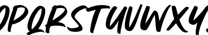 Milesbingo Font UPPERCASE