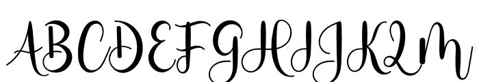 Milestone Script Font UPPERCASE