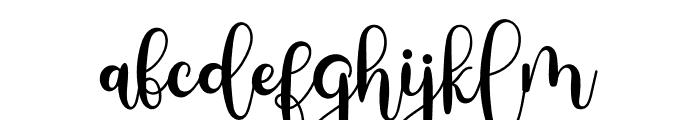 Milestone Script Font LOWERCASE