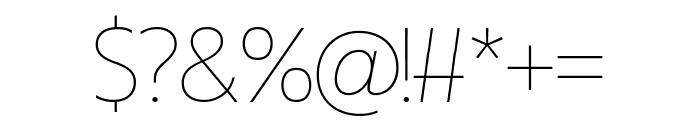 Miletone Font OTHER CHARS