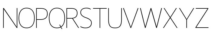 Miletone Font UPPERCASE
