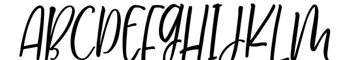 MilkimoCheesecakeItalic Font UPPERCASE