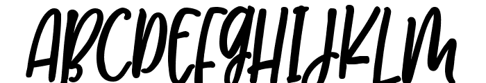 MilkimoCheesecakeItalicBold Font UPPERCASE