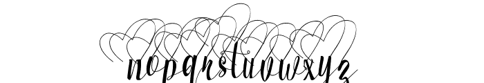 Milkytwins Alt 03 Font LOWERCASE