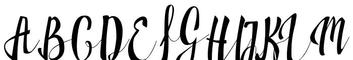 Milkytwins Font UPPERCASE